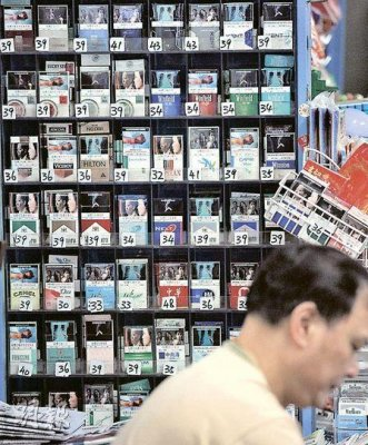 Display boxes of cigarettes can have the same impact as cigarettes advertisements.