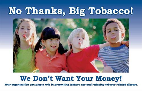 No Thanks, Big Tobacco