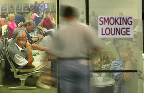 smoking-lounge
