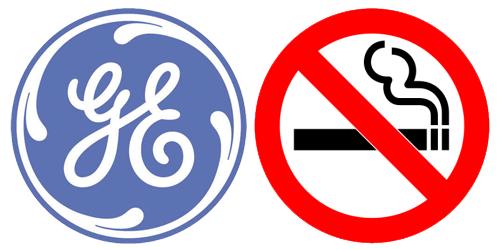 GE smoking ban