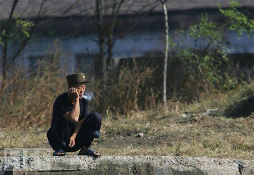 north korean smoker
