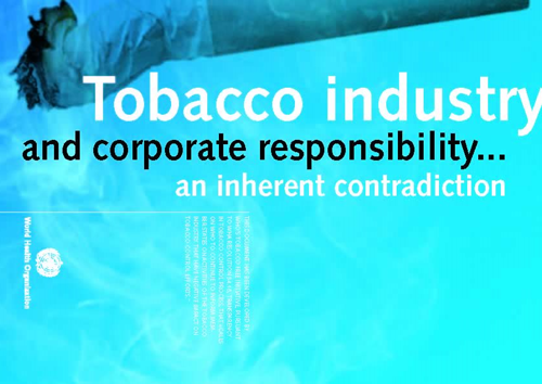 tobacco and csr