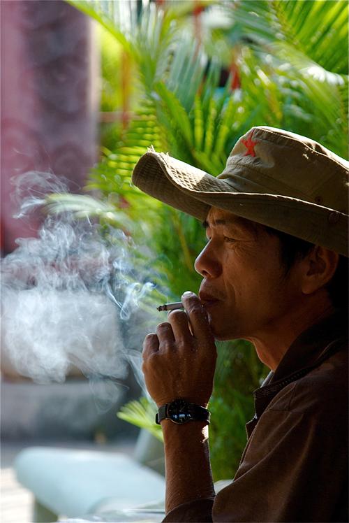 Vietnamese smoking