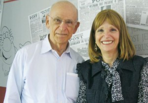 Stanley and Susan Rosenblatt. They took on Big Tobacco in the courtroom and won.. (photo credit:LAURA KELLY)