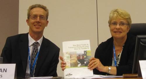 Mr. Andy Logan (Oxford Economics) and Ms. Liz Allen (ITIC)
