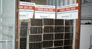 Some of the cigarettes seized at Dublin Port. Photograph: Revenue