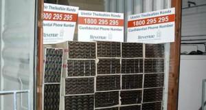 Some of the cigarettes seized at Dublin Port. Photograph: Revenue