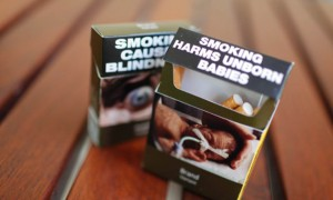 Australia's plain packaging: the British House of Commons has just voted to adopt similar legislation. Photograph: Lukas Coch/AAP