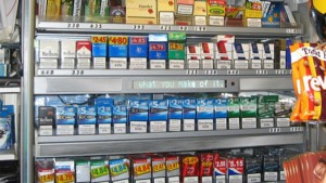 We successfully campaigned to cover up tobacco displays in shops and remove tobacco vending machines.