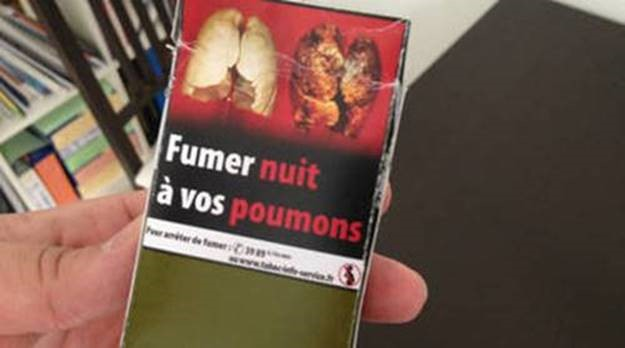 A French cigarette package. - Emma Jacobs