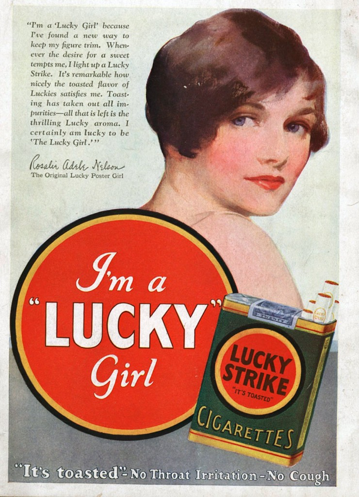 It was considered uncouth for a woman to smoke at the turn of the 20th century, but as the Prohibition era came to an end, tobacco companies aggressively targeted the untapped female market.