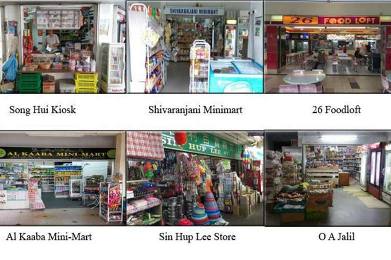Song Hui Kiosk had its tobacco retail licence revoked, while the licences of the other five were suspended for six months. PHOTO: HSA