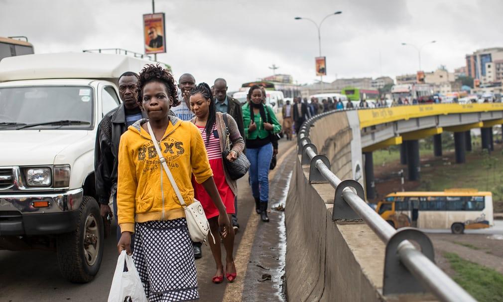 Nairobi, Kenya Photograph: David Levene for the Guardian